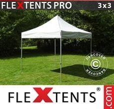 Event tent 3x3 m Silver
