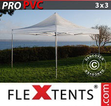 Event tent 3x3 m Clear