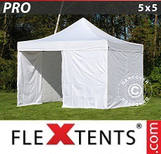 Event tent  5x5 m White, incl. 4 sidewalls
