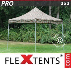 Event tent 3x3 m Camouflage/Military