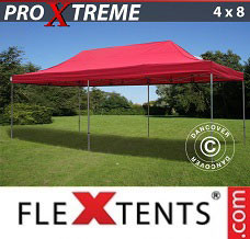 Event tent 4x8 m Red