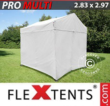 Event tent  2.83x2.97 m White, incl. 4 sidewalls