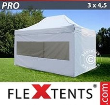 Event tent 3x4.5 m White, incl. 4 sidewalls