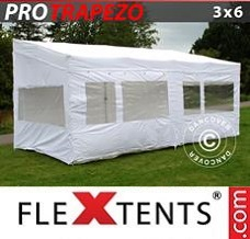 Event tent 3x6m White, incl. 4 sidewalls