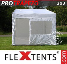 Event tent 2x3m White, incl. 4 sidewalls