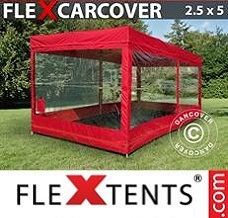 Event tent  2,5x5 m, Red