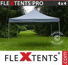 Event tent 4x4 m Grey