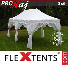 Event tent 3x6 m White/Gold