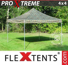 Event tent 4x4 m Camouflage/Military