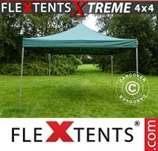 Event tent 4x4 m Green