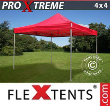 Event tent 4x4 m Red