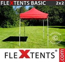 Event tent  2x2 m Red