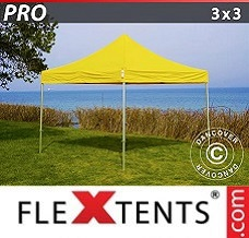 Event tent  3x3 m Yellow