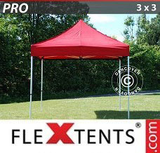 Event tent 3x3 m Red
