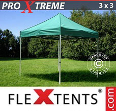 Event tent 3x3 m Green