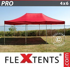 Event tent 4x6 m Red