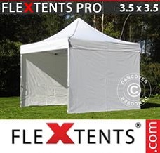 Event tent 3.5x3.5m White, incl. 4 sidewalls
