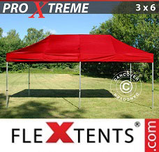 Event tent 3x6 m Red