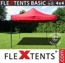 Event tent , 4x4m Red